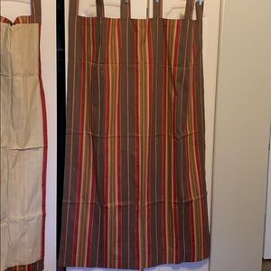 Other - Set of 4 curtain panels striped pattern NICE